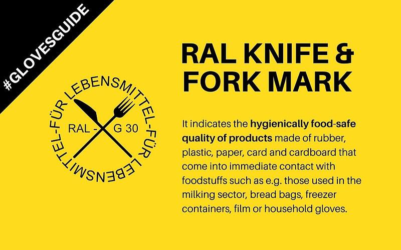 RAL knife and fork mark