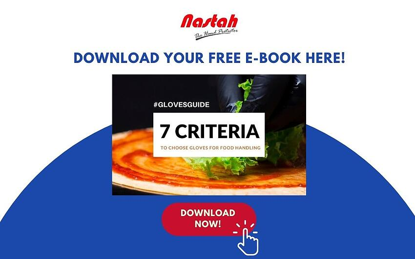 download e-book 7 criteria to choose food safe gloves