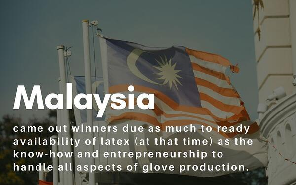 how malaysia evolved as major glove makers